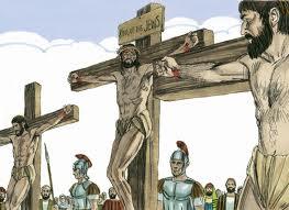 Yeshua crucified as