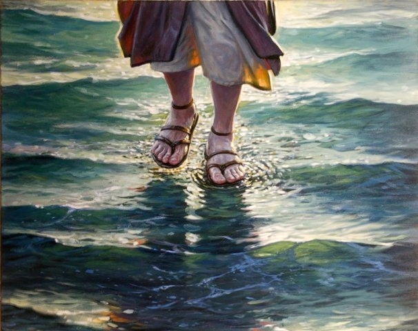 Image result for walking on the water