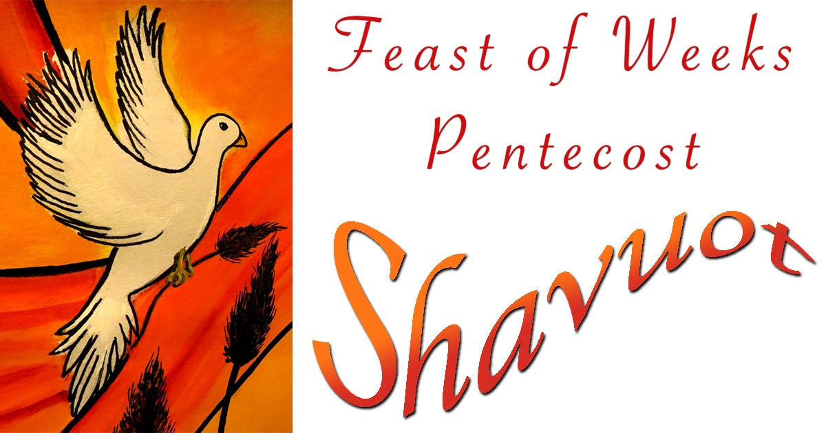 The Feast of Shavuot Pentecost in Prophecy